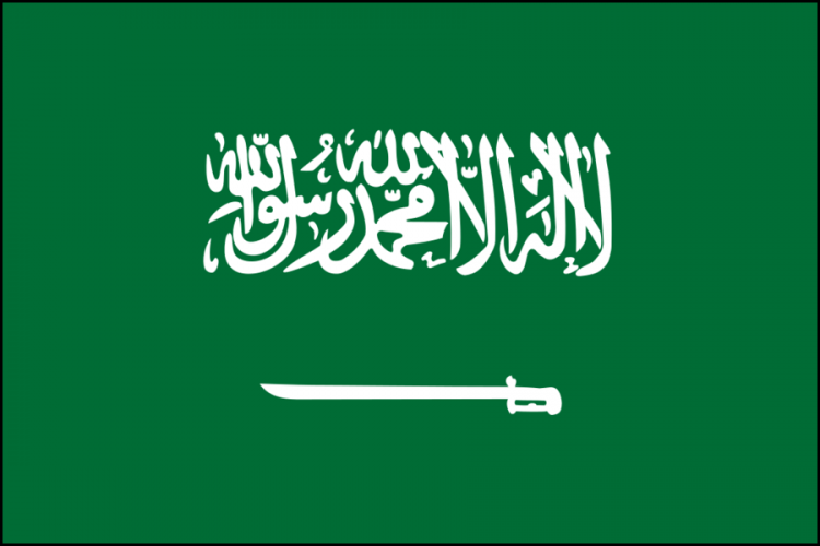 Arabia Saudita bandiera