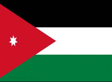 Giordania bandiera