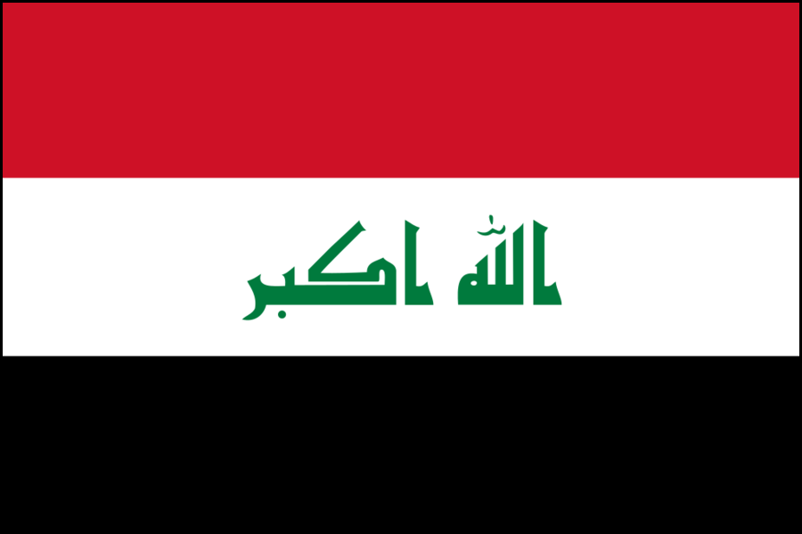 Iraq bandiera