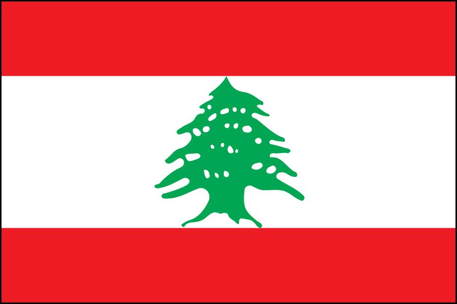Libano bandiera