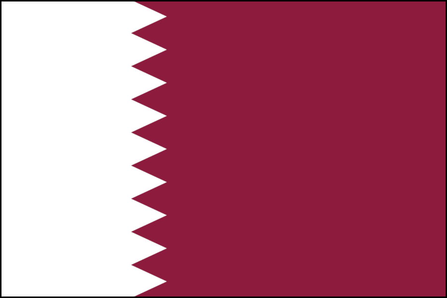 Qatar bandiera