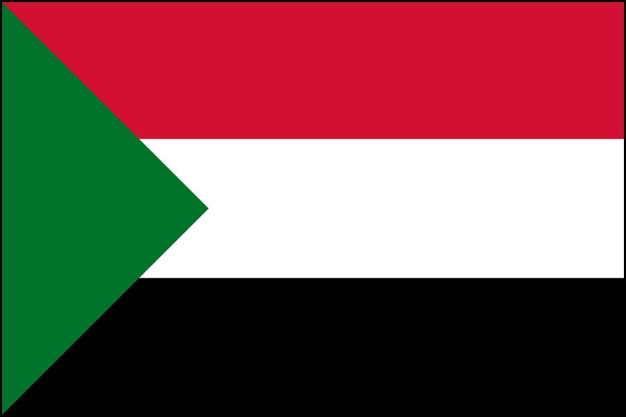 Sudan bandiera