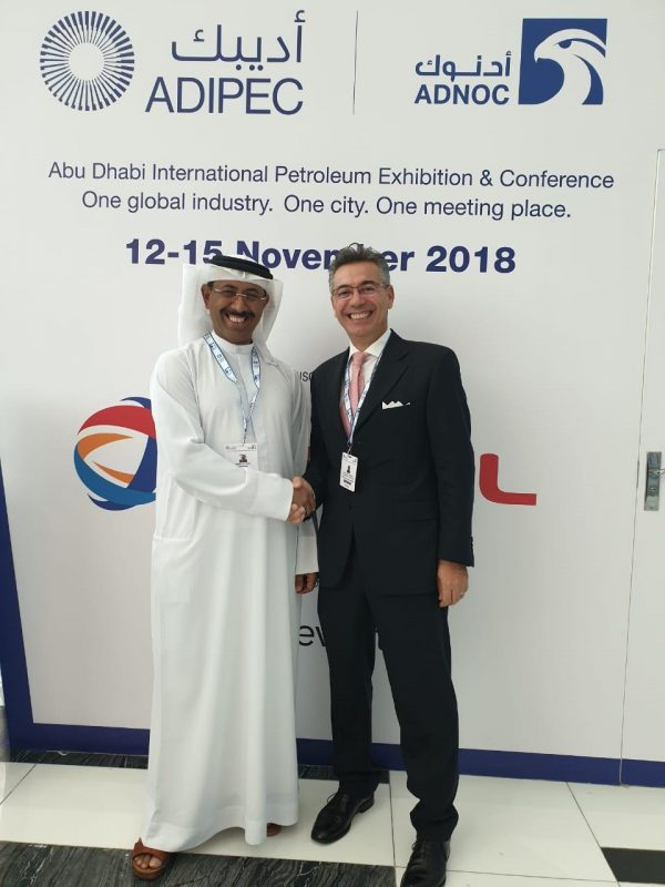 The Joint Italian Arab Chamber of Commerce at ADIPEC