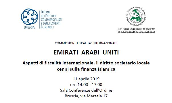 Evento Brescia Fiscalità Internazionale